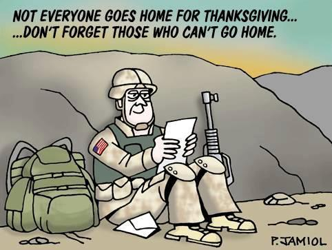 thanksgivng soldier