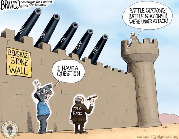 Benghazi Stone wall